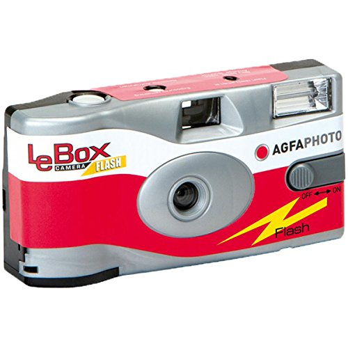 Agfa Photo LeBox 400 Disposable Camera with Flash, 27 Exposures by AgfaPhoto