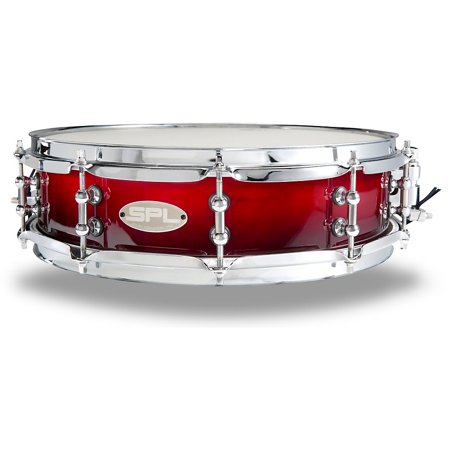 Sound Percussion Labs Scarlet Fade Lacquer Snare Drum 14 x 4 in.