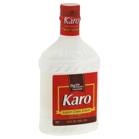 Karo Light Corn Syrup with Real Vanilla, 32-Ounce Chocolate Vanilla Corn Syrup