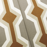 Gray/Beige Designer Holland Print Home Decorating Fabric, Fabric By the Yard