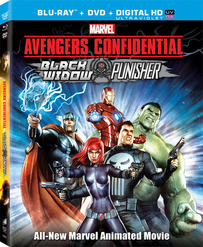 Avengers Confidential: Black Widow and Punisher (Blu-ray + DVD)
