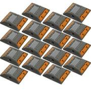 NEW 16 Pack Commercial Aluminum Alloy Solar Road Stud Path Deck Dock LED Light
