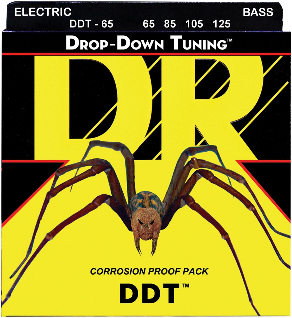 DR Strings Drop-Down Tuning Extra Heavy Bass Strings by DR Strings