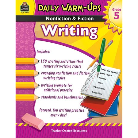 Daily Warm Ups (DAILY WARM UPS GR 5 NONFICTION & FICTION WRITING)