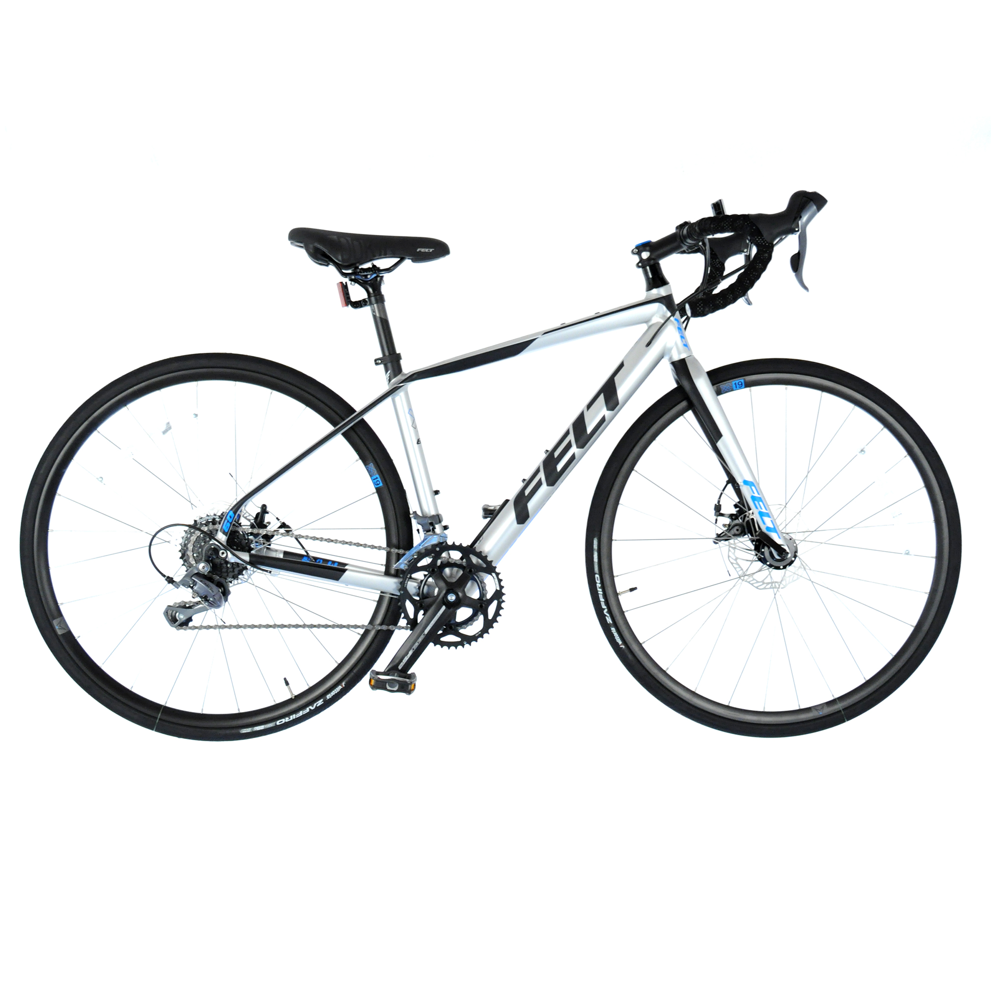2017 Felt VR60 Disc Road Bike w/ Carbon Fork Shimano Claris 8 Speed // 47cm