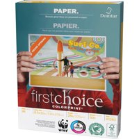 Domtar, DMR85283, FirstCoice ColorPrint Paper, 500 / Ream, White
