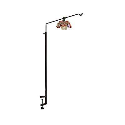 Erva Adjustable Clamp Mount Deck Hanger Patio Porch Garden Bird Feeder House