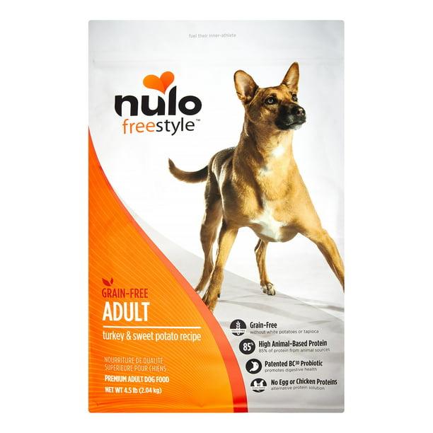 Nulo Freestyle Grain-Free Turkey & Sweet Potato Dry Dog Food, 4.5 Lb