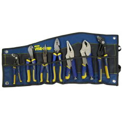 Vise Grip VGP1802537 7 Piece IRWIN Traditional and Locking Pliers Set 4 Piece Vise Grip Plier