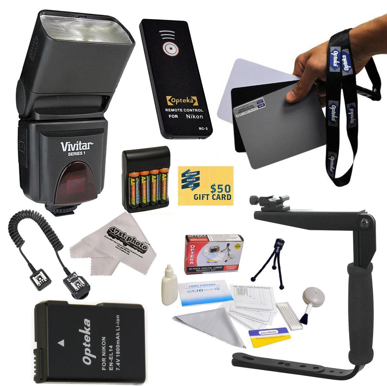 Opteka Kit for Nikon Nikon D3100, D3200, D5100, D5200, & ...