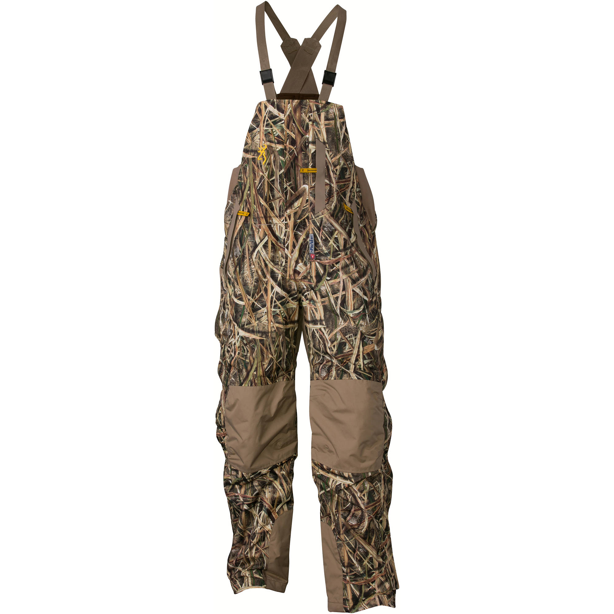 Browning Wicked Wing Insulated Bib, Mossy Oak Shadow Grass Blades by Browning