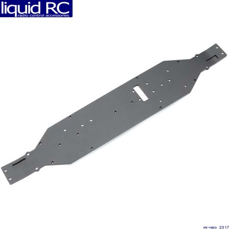 Axial Racing AX30798 Main Chassis Plate Aluminum (4mm) (Black) 4 Mm Main Chassis