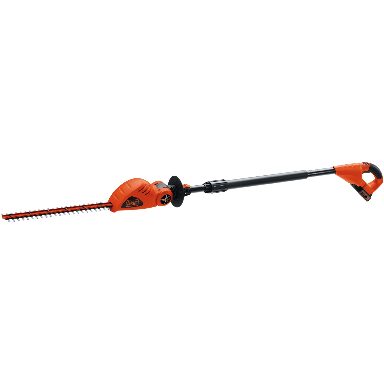 "BLACK+DECKER LPHT120 20V MAX Lithium-Ion 18"" Cordless Pole Hedge Trimmer"