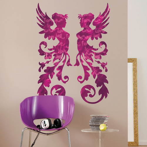 Brewster Home Fashions Euro Freestyle Fantasy Wall Decal