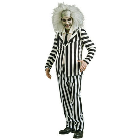 Men's Beetlejuice Costume - Express Post Costumes