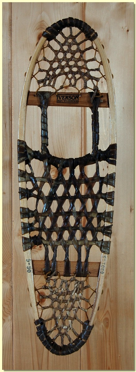 Iverson Green Mountain 10 X 36 Rawhide Snowshoes 220lb Capacity by