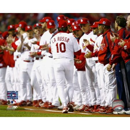Tony LaRussa Game Three of the 2006 World Series Photo - Tony Larussa World Series