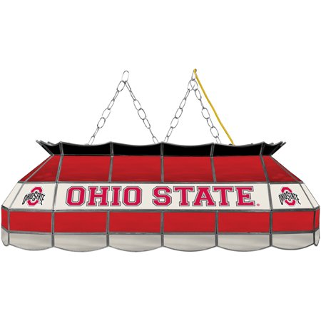 Ohio State Stained Glass (Trademark Ohio State University Billiard Lamp, Stained)