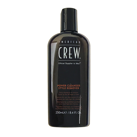 American Crew Power Cleanser Style Remover 8.4 Oz, Daily Shampoo To Remove Build Up For All Hair (Mens Style Types)