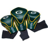 Team Golf NFL Green Bay Packers 3 Pack Contour Head Covers