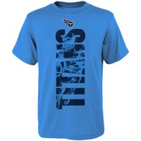 size 40 d3216 ffe2e Product Image Youth Light Blue Tennessee Titans Side T-Shirt