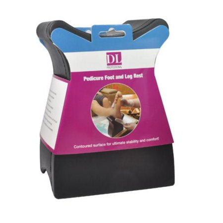 DL Pedicure and Manicure Professional Spa Foot and Leg Rest ()