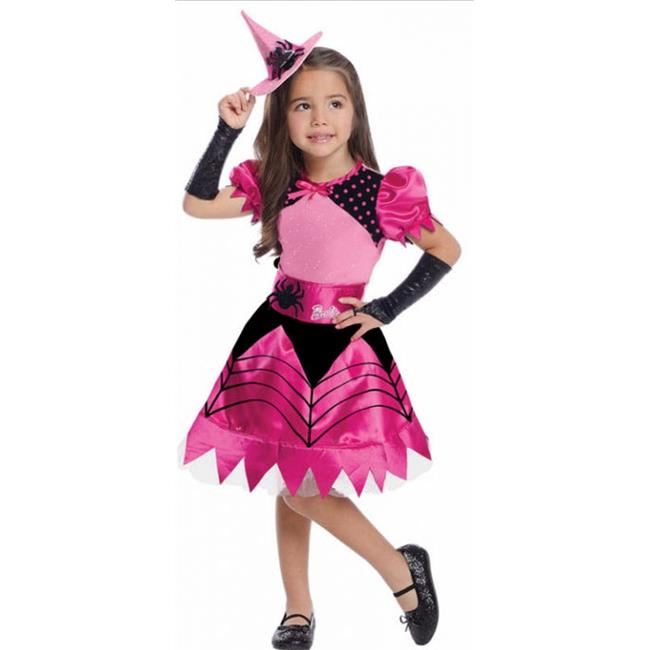 Costumes for all Occasions RU886754MD Barbie Witch Child Medium