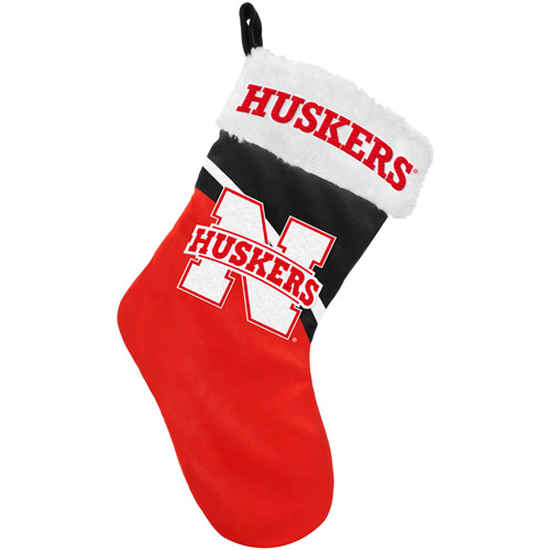 Nebraska Cornhuskers NCAA 2013 Swoop Plush Stocking
