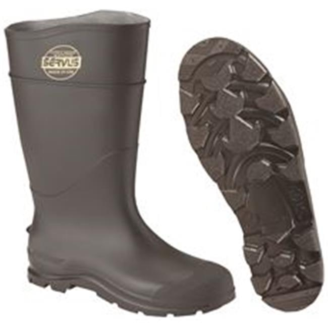 Honeywell Safety Products 2477004 PVC Safety Boot Knee Boot Safety & Steel Toe, Black - Size 5 d1b85f