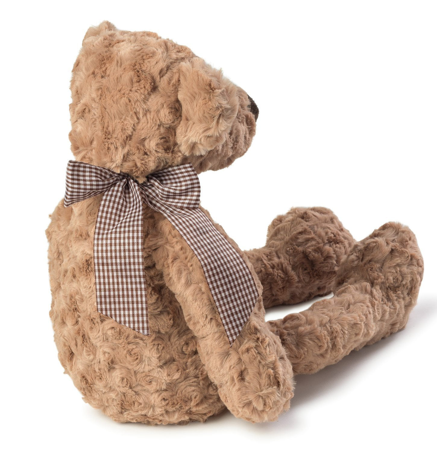 Joon Charles Rosy Plush Teddy Bear, Light Brown, 12-Inches by Joon