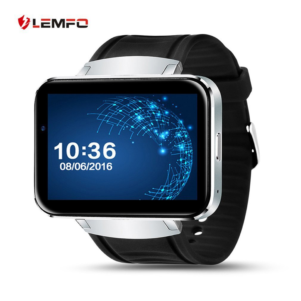 LEMFO LEM4 2.2 Inch Screen GPS Map Weather Checking Smart Watch For Android