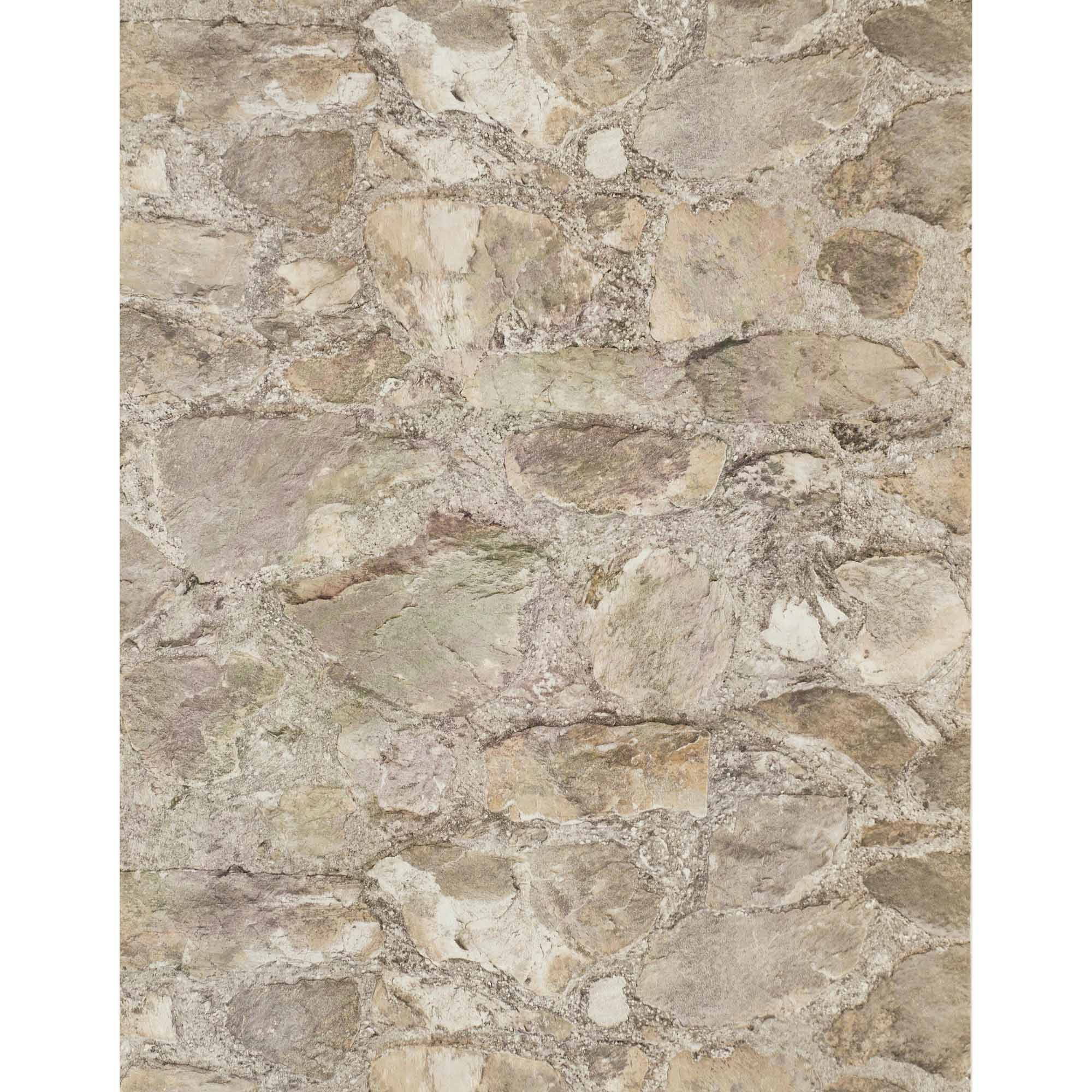 Weathered Finishes Field Stone Wallpaper