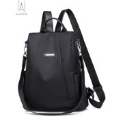 "GustaveDesign Women Backpack Waterproof Oxford Cloth Anti-theft Rucksack Travel Shoulder Bag School Bags for Girls ""Black"""
