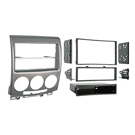 Metra 99 7509 Single Din Double Din Installation Kit For 2006 2007 Mazda 5 Vehicles  Silver