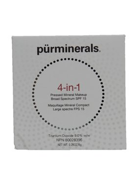 Pur Minerals 4-In-1 Pressed Mineral Makeup Spf 15 Golden Medium 0.28 Ounce