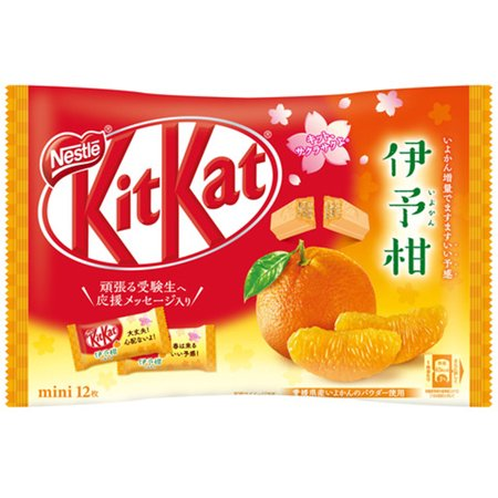 Kit Kat Yokan Orange 12 Mini Bars Japanese Chocolate Candy 4.9 Oz.](Kit Kat Halloween Ingredients)