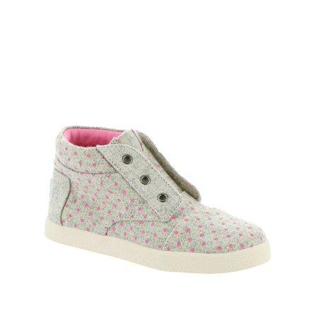 Toms Kids Paseo High Sneaker (Infant/Toddler/Little, Grey, Size 2 M Us Infant](Infant Toms On Sale)