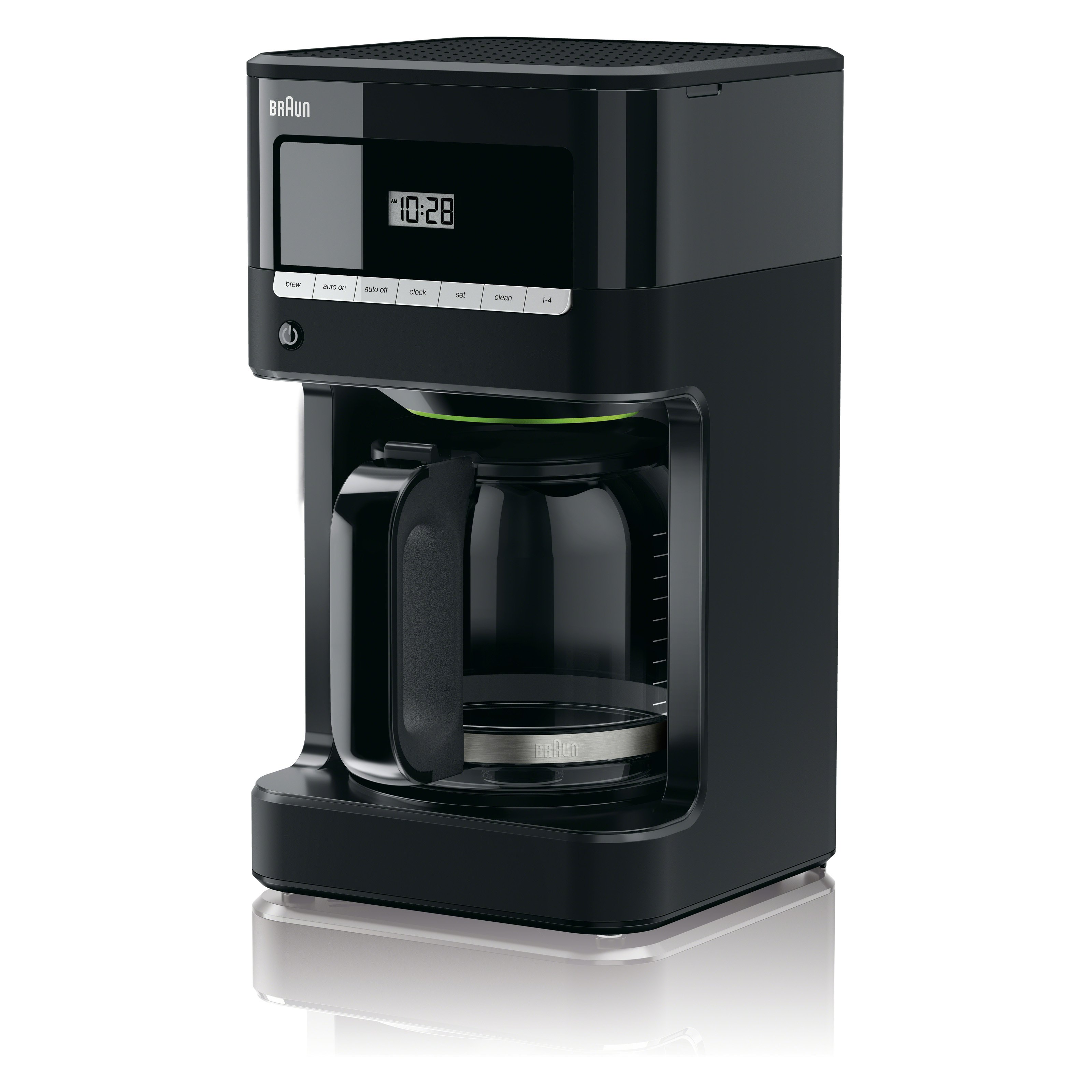 Braun KF7000BK BrewSense 12 Cup Drip Coffee Maker - Black