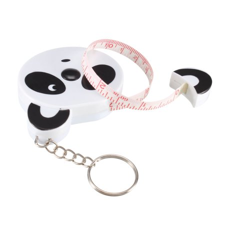60 Inch Retractable Measuring Tape Soft Dual Sided for Measuring Sewing with Keychain 1.5 Meter Cartoon