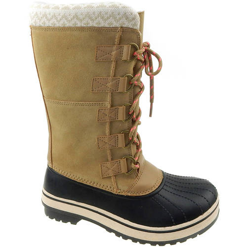 Ozark Trail Women's Tall Lace Up Winter Boot - Size 10