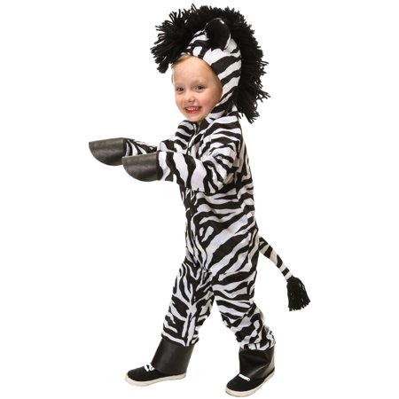 Wild Zebra Costume for Toddlers](Makeup For Zebra Costume)