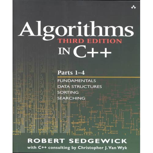 Algorithms in C  : Parts 1-4 : Fundamentals, Data Structures, Sorting, Searching