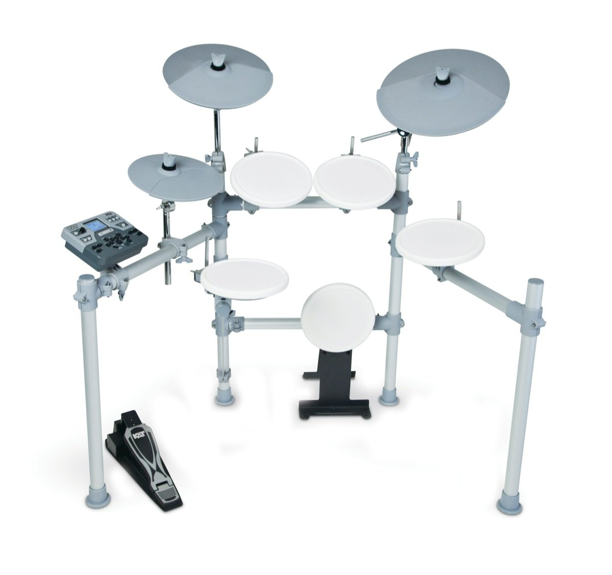 KAT Percussion 5PC High Performance Digital Electronic Drum Set by KAT Percussion