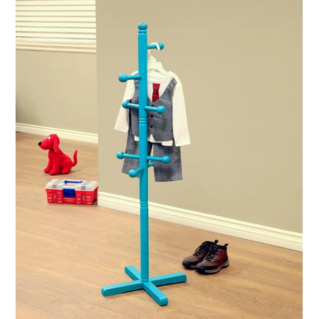 Home Craft Kid's Coat Rack, Multiple Colors