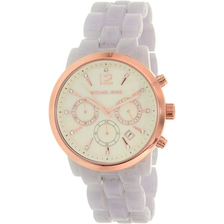 Michael Kors Women's Audrina MK6312 Lavender Plastic Quartz Fashion Watch