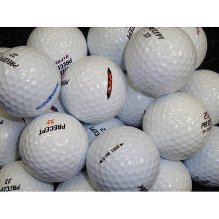 Bridgestone Golf Precept Golf Balls, Used, Mint Quality, 12 Pack