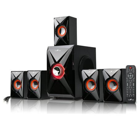 beFree Sound 5.1 Channel Surround Sound Bluetooth Speaker System-