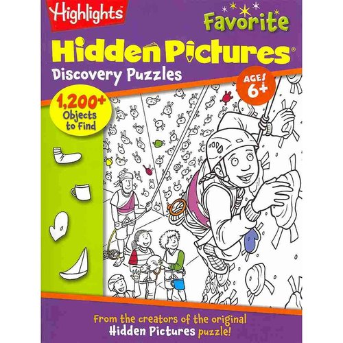Highlights Favorite Hidden Pictures Discovery Puzzles