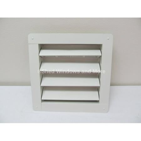 Aluminum Gable Vents - Shed Aluminum Gable Vent 8