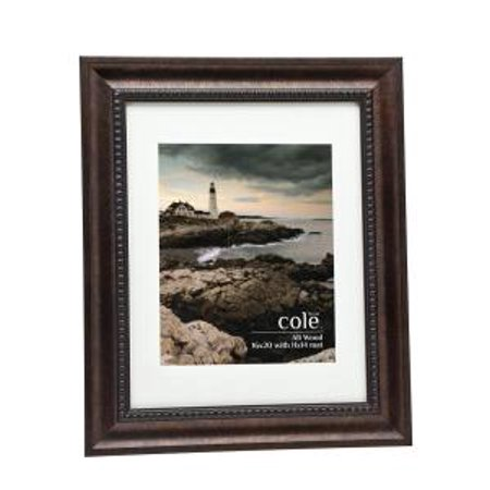 Bronze wooden 16x20 11x14 matted picture frame with for 16x20 frame